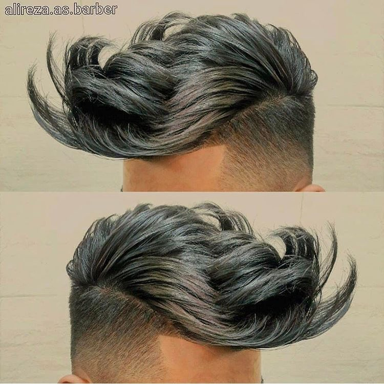 مدل مو پسرانه ۱۳۹۸با طرح های شیک امروزی