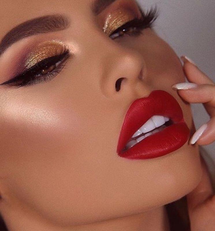 مدل آرایش لب جدید ۹۸ زیبا برای خانم های جذاب + تصویر