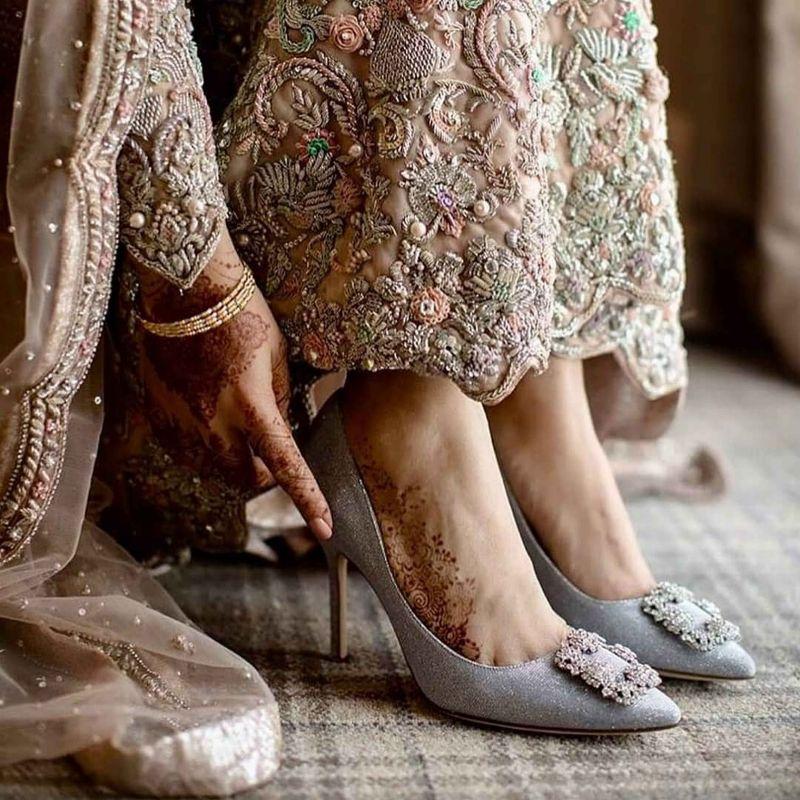 مدل های جدید کفش عروس ۹۸ لژدار شیک و راحت + تصاویر