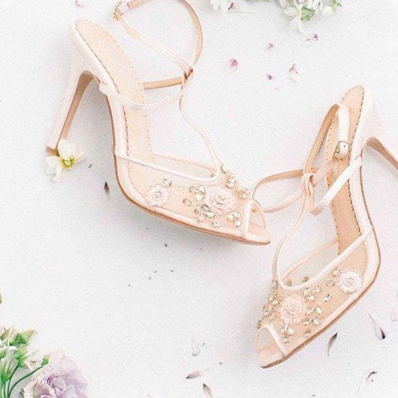 مدل کفش عروس ۲۰۱۹ / تصاویری از مدلهای جدید کفش عروس ۹۸
