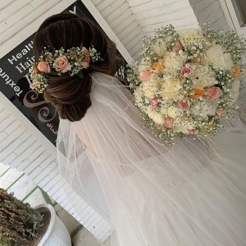 جدیدترین مدل شینیون عروس ۹۸ - ۲۰۱۹ با متد های بروز (۵۰ عکس)