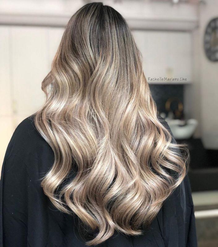 رنگ و مش - ۵۰ عکس رنگ مو جدید زنانه و دخترانه ویژه سال ۲۰۱۹