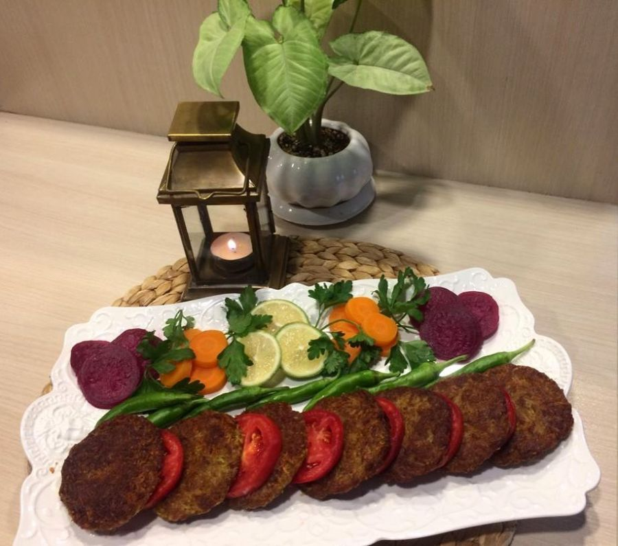 تزیین غذا کباب شامی با انواع خلاقیت های جدید (۱۵ ایده جذاب)