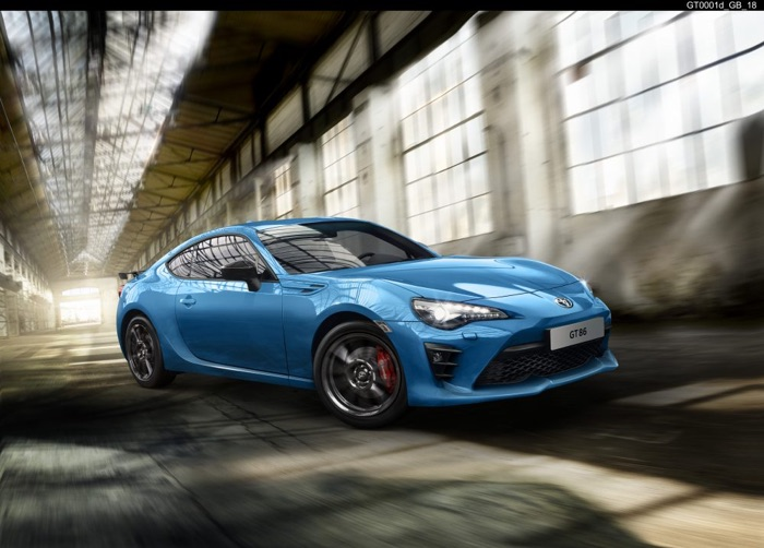 تویوتا و معرفی  GT86 Club Series Blue Edition