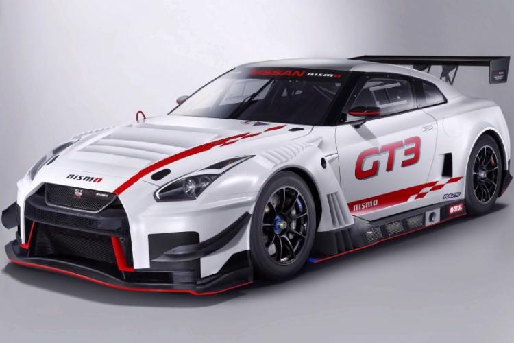 GTR nismo GT3 2018 نیسان معرفی شد
