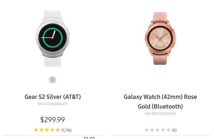 گلکسی واچ ساعت هوشمند جدید سامسونگ در وب سایت این شرکت آشکار شد