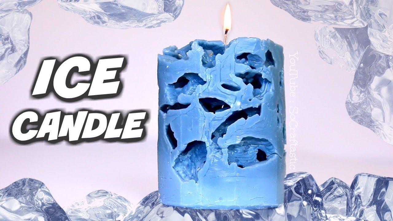 آموزش ساخت شمع یخی در خانه