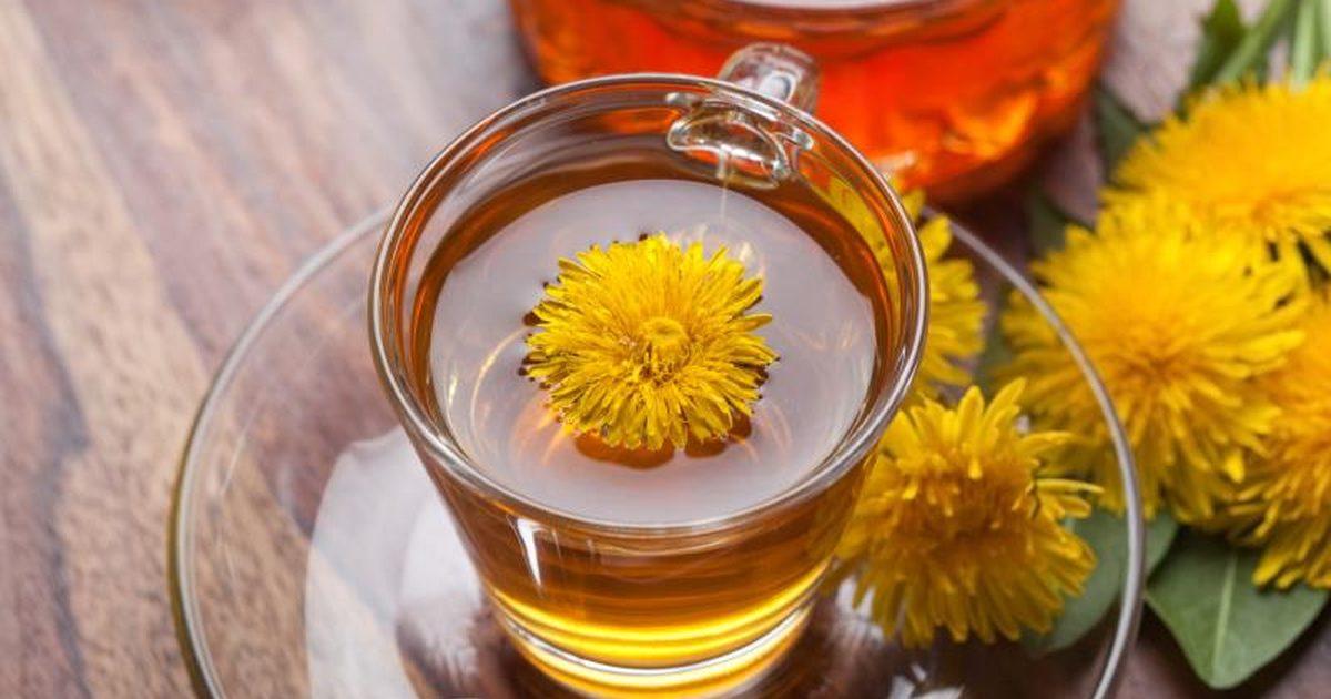 خواص اسرار آمیز چای قاصدک