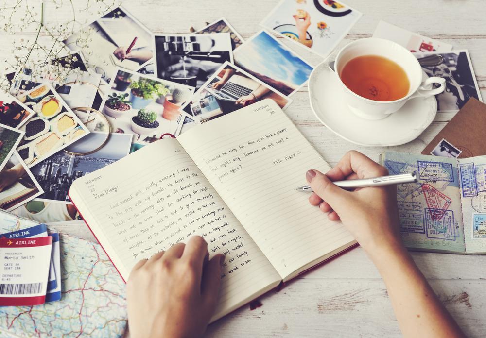 نوشتن خاطرات : راه کاری مناسب برای مقابله با اضطراب