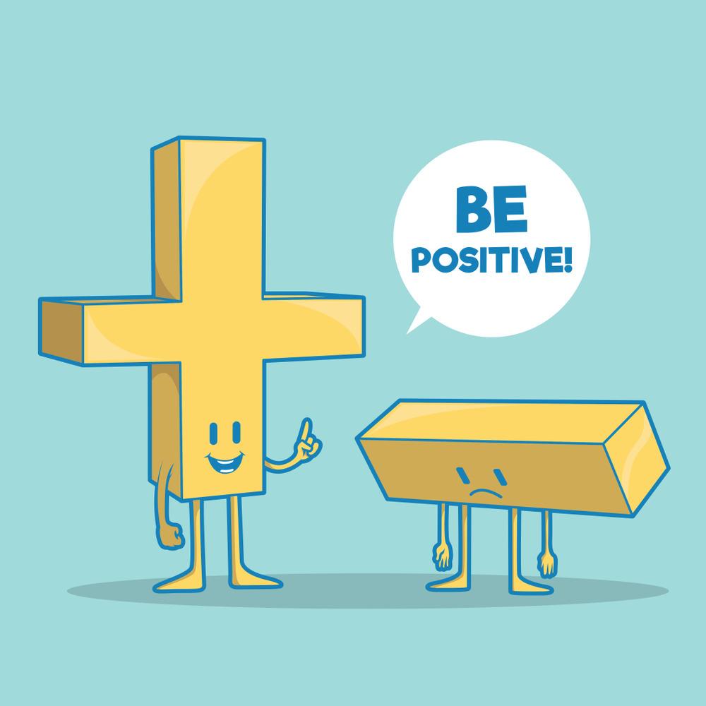 تفاوت رفتارهای افراد مثبت نگر با افراد منفی نگر