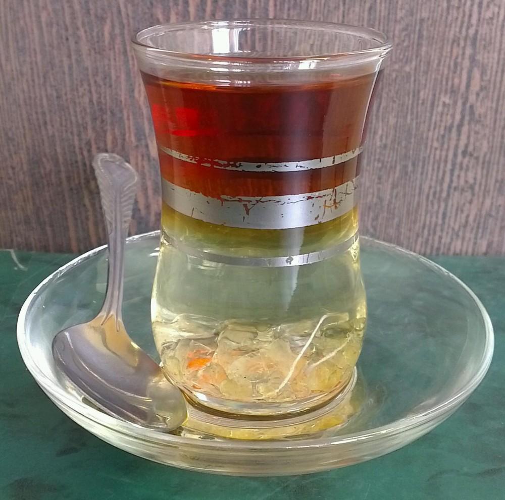 طرز تهیه چای دورنگ مجلسی