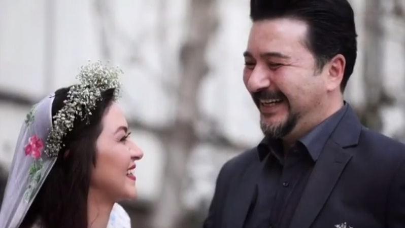فیلم ازدواج امیرحسین صدیق و باران خوش اندام