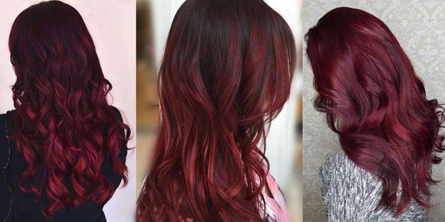 ۱۰ ترکیب رنگ بی نظیر برای انواع رنگ موی شرابی