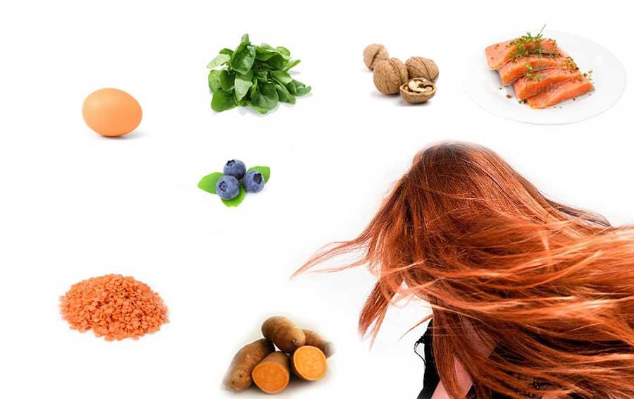 معرفی کامل ۷ ویتامین موثر در رشد و تقویت مو و ناخن