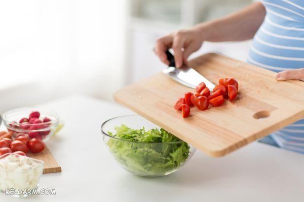فواید مصرف گوجه فرنگی در دوران بارداری / عوارض گوجه در بارداری