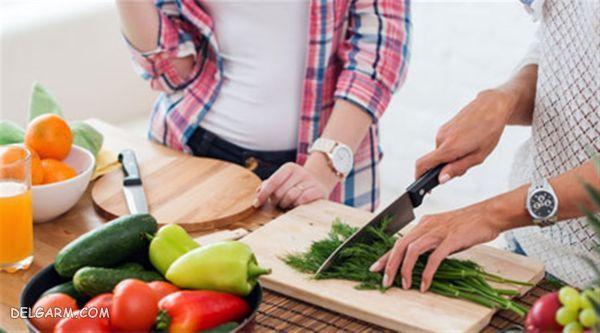 درمان ناباروری مردان با تغذیه
