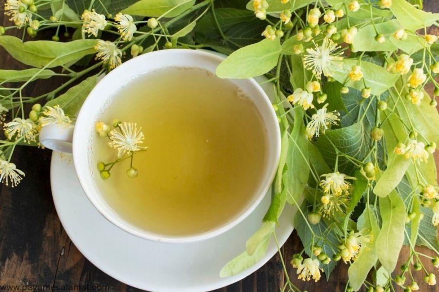 ۷ خاصیت شگفت انگیز چای لیندن برای سلامت بدن