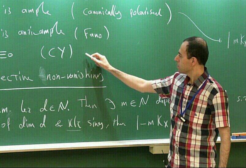 کوچر بیرکار دومین ریاضیدان ایرانی، جایزه نوبل دریافت کرد
