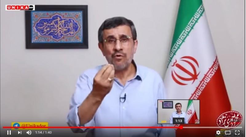 حمله احمدی نژاد به روحانی: مردم دیگه شما رو قبول ندارن!!