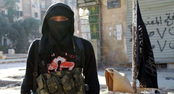 ملکه داعشی ها دستیگر شد !