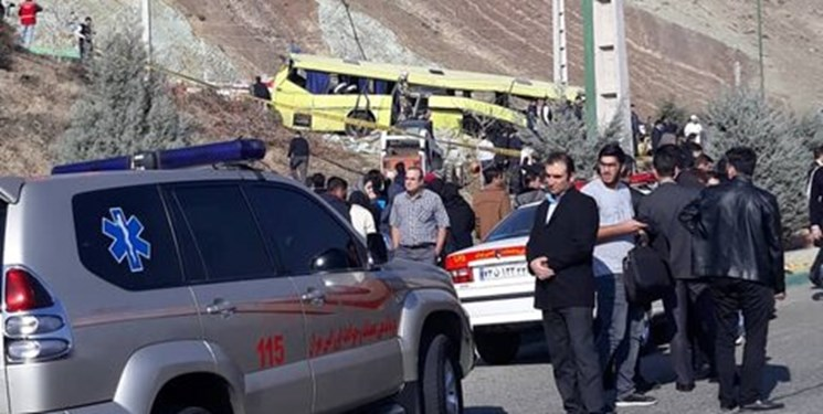 آخرین خبرها از وژاگونی مرگبار اتوبوس دانشگاه ؛ تسلیت مقام رهبری