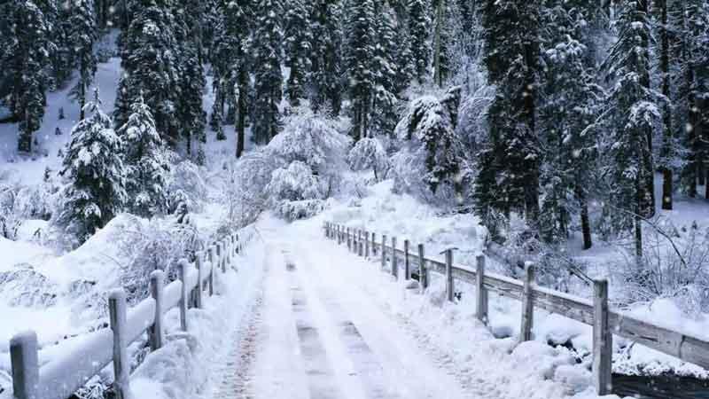 هوای کدام استانها برفی است ؟ دیماه ۹۷