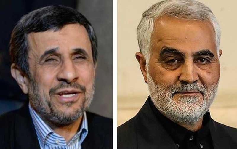 احمدی نژاد ، سردار سلیمانی را متهم کرد