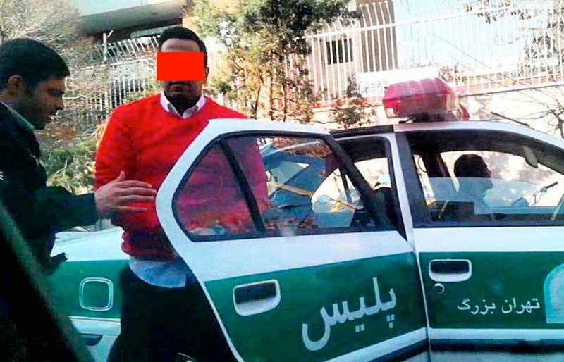جزئیات دستگیری بازیکن مشهور پرسپولیس در خیابان ولیعصر
