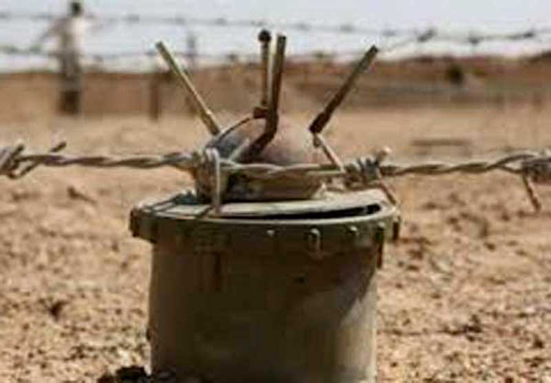 سرباز ارتش حین انجام وظیقه بر اثر انفجار مین به شهادت رسیدند.