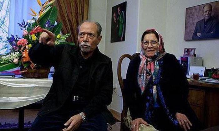 درگذشت همسر علی نصیریان و کنسل شدن جشن سیمرغ