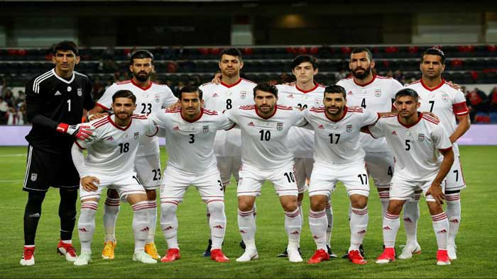 رتبه ایران در فوتبال آسیا چند شد ؟