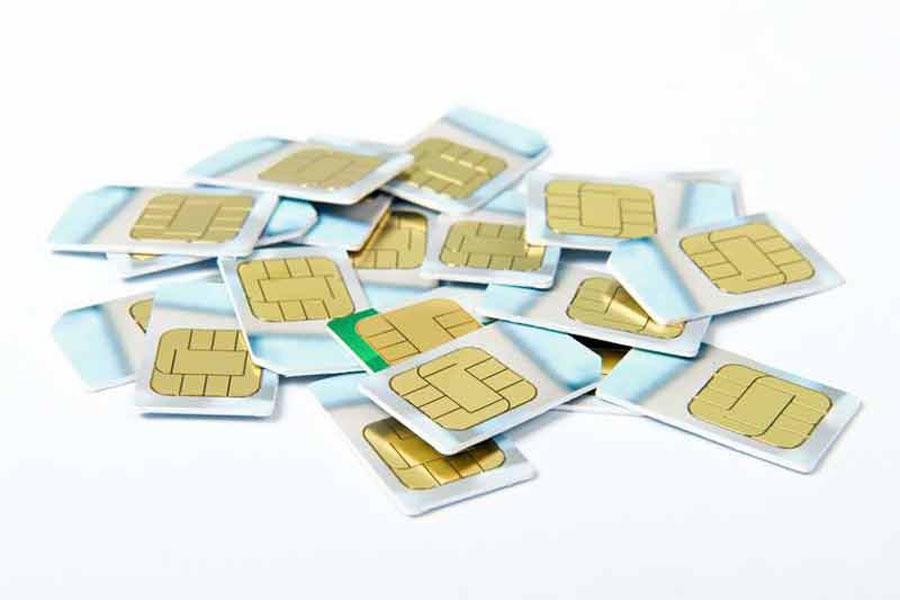 ۳۰۰۰ سیم کارت بی نام و نشان مسدود شد