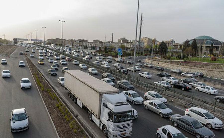 وضعیت ترافیک جادههای منتهی به شمال | ۲۹ فروردین ۹۸