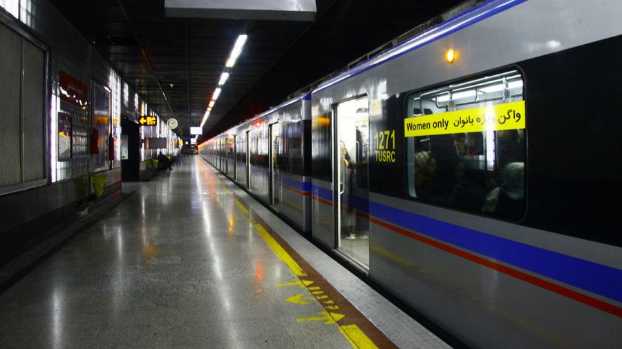 خودکشی در مترو تهران سبب تعطیلی خط مربوطه شد