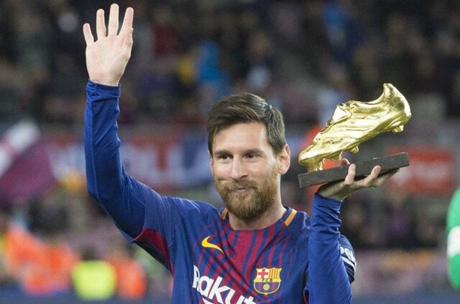 مسی برنده کفش طلا در سال ۲۰۱۹ شد