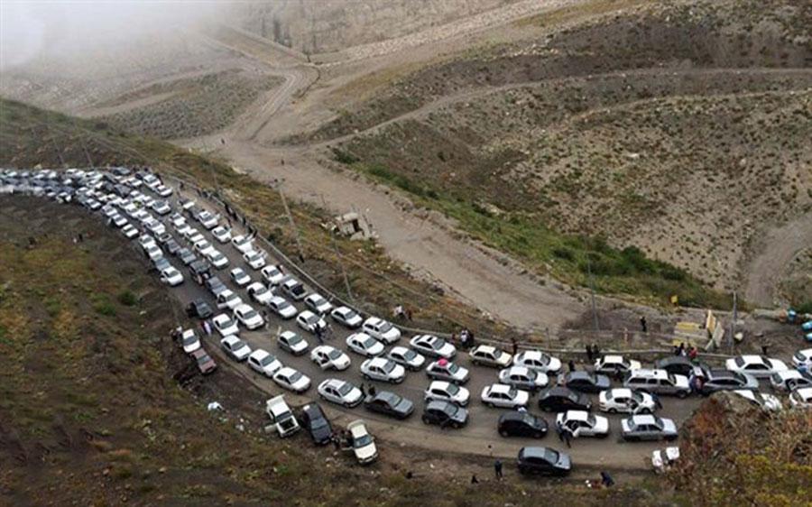وضعیت جاده هراز و چالوس فردا ۶ خرداد