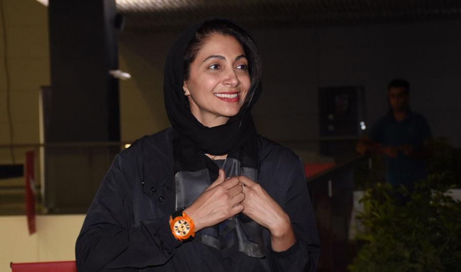 همسر امین حیایی از جشنواره آمریکایی جایزه گرفت.
