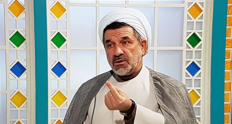 قهر کردن یک روحانی وسط برنامه زنده + فیلم