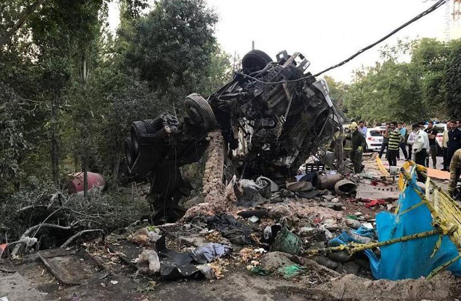 جزئیات سانحه مرگبار انفجار در باغ سفارت روسیه در تهران + تصاویر