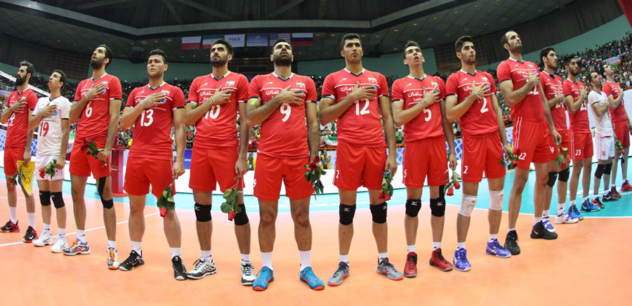 برخورد بد پلیس شیکاگو با ملی پوشان والیبال ایران ، امریکا تکذیب کرد