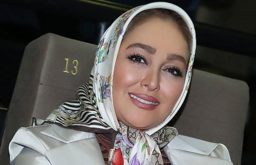 لباس الهام حمیدی در جشنواره حافظ جنجالی شد