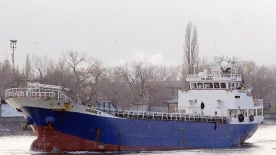 کشتی باری ایرانی در آذربایجان غرق شد
