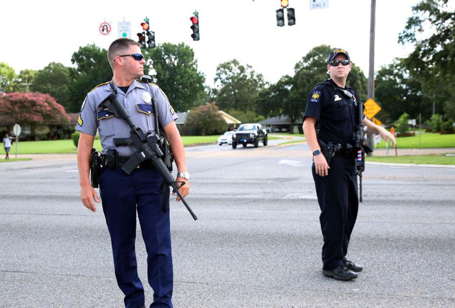 ۴۴ کشته و زخمی در تیراندازی ایالت تگزاس + تصاویر