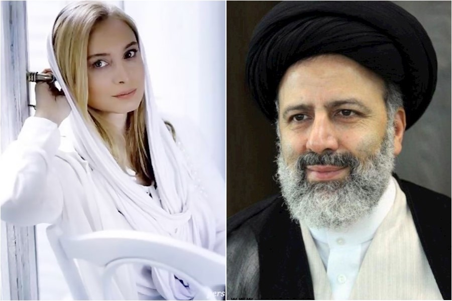 تشکر مریم کاویانی از ابراهیم رئیسی رئیس قوه قضائیه