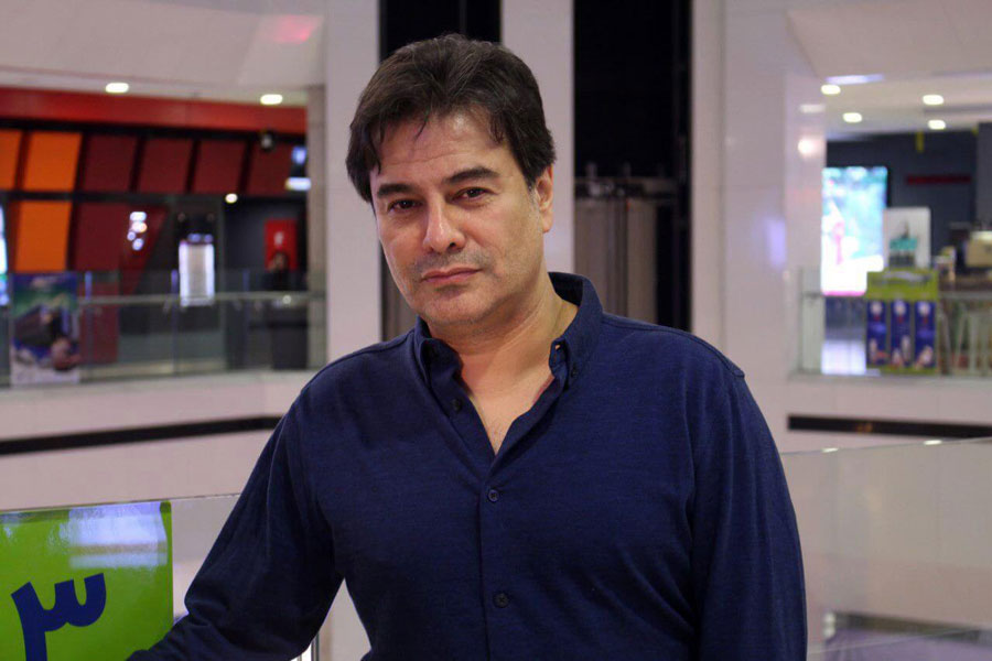 حضور پیمان قاسم خانی در شب نشینی مهران مدیری