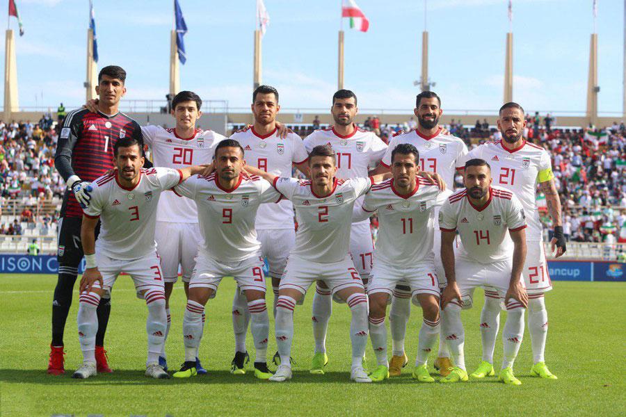 عکس لباس جدید تیم ملی فوتبال ایران