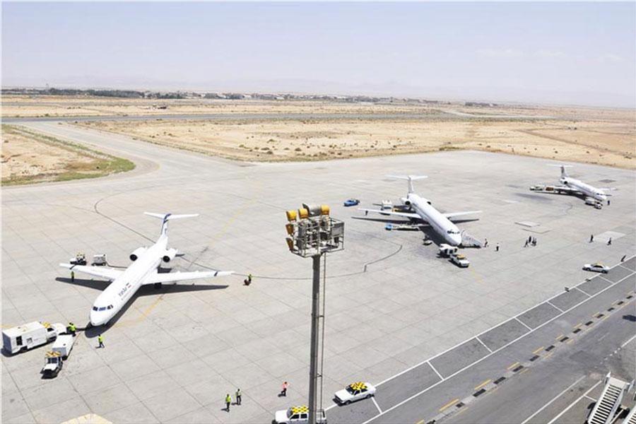پروازهای اصفهان به دمشق در محرم 98