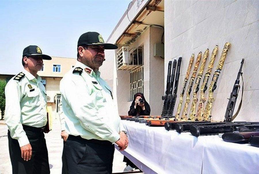 کشف ۲۷۷ قبضه اسلحه در خوزستان