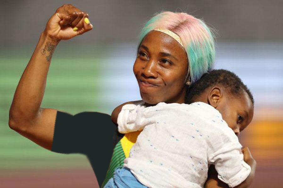 یک مادر سریع ترین دونده زن جهان شد