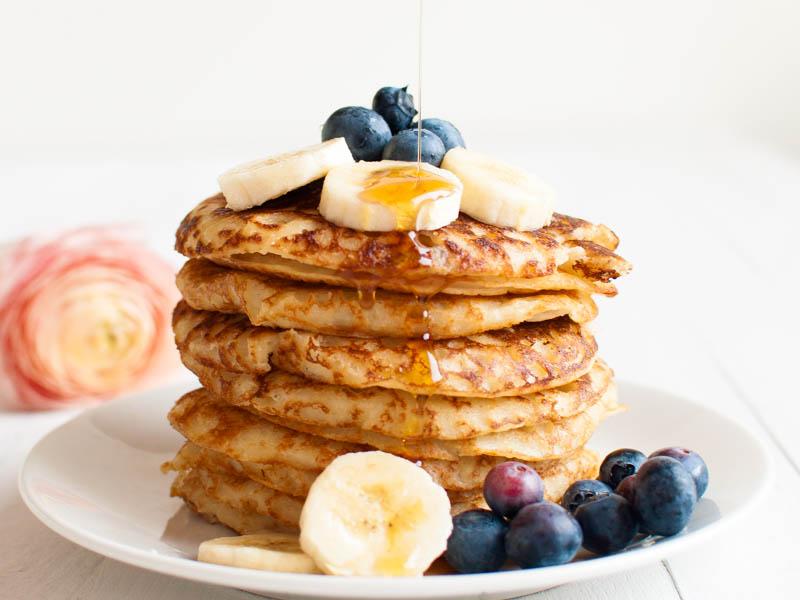 طرز تهیه پنکیک صبحانه مرحله به مرحله